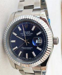 Replica de reloj Rolex Datejust 23 (40mm) 126334 Oyster Azul