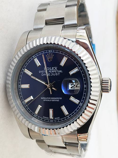 Replica de reloj Rolex Datejust 23 (40mm) 126334 Oyster Azul
