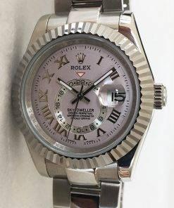 Replica horloge Rolex Sky dweller 01326939 (42mm) Esfera gris