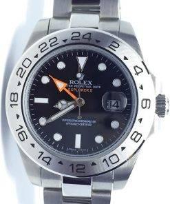 Replica horloge Rolex Explorer ll 03 (42mm) 216570 Esfera Negra (Acero)