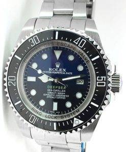 Replica de reloj Rolex Sea Dweller 06 Deepsea (44mm) James Cameron 126660 Azul/Negro