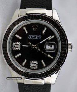 Replica de reloj Rolex Datejust 15 (36mm) Correa de caucho