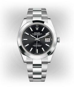 Replica de reloj Rolex Datejust ll 23 (41mm) 126334 correa Oyster esfera Azul/ automático
