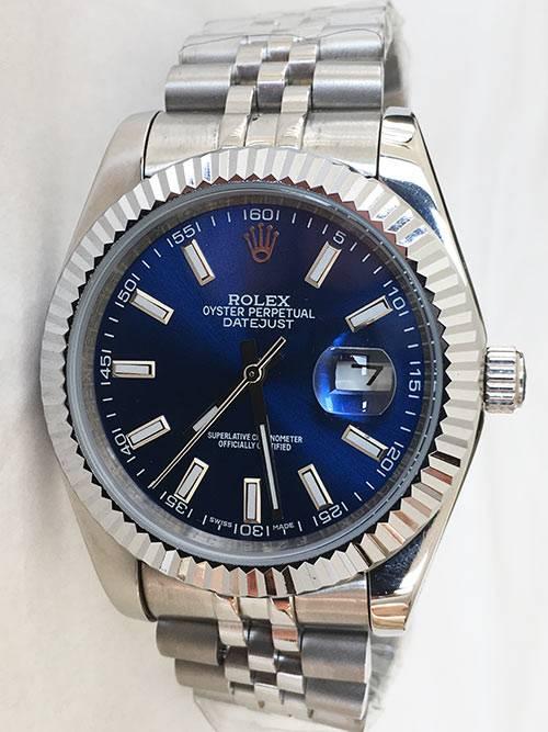 Replica de reloj Rolex Datejust 26 (41mm) 126334 Jubilee (Esfera azul)