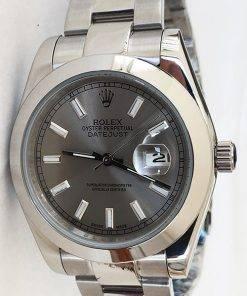 Replica de reloj Rolex Datejust 29 (41mm) 126300 Oyster (Esfera gris)