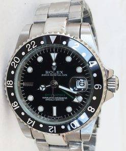 Replica de reloj Rolex Gmtmaster ll 05 (40mm) 16710 Negro (Correa Oyster) Automático
