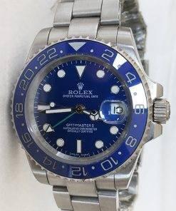 Replica de reloj Rolex Gmtmaster ll 06 (40mm) 116710ln Azul (Correa Oyster)Automático