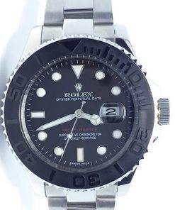 Replica de reloj Rolex Yacht master 05 (42mm) 226659 (Esfera negra) Automático