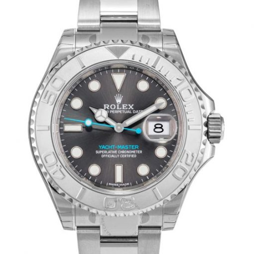 Replica de reloj Rolex Yacht master 02 (40mm) 116622 Rodio Oro blanco (Correa Oyster) Automático