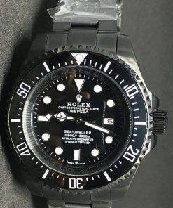 Replica de reloj Rolex Sea Dweller 03 (44mm) Jacques Piccard Edition 116660 Black Prohunter