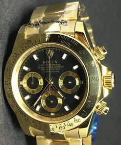 Replica de reloj Rolex Daytona 01 cosmograph (40mm) Gold (Oro)