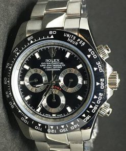 Replica de reloj Rolex Daytona 03 cosmograph (40mm) Esfera negra (Automático)