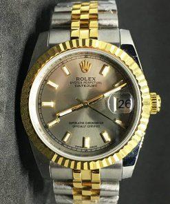 Replica de reloj Rolex Datejust 37 (36mm) (Correa Jubilee) Acero y oro