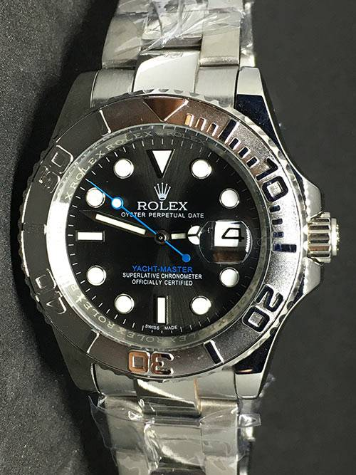 Replica de reloj Rolex Yacht master 02 (40mm) Rodio Oro blanco (Correa Oyster) Automático