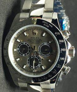 Replica de reloj Rolex Daytona 04 cosmograph (40mm) Esfera gris (Automático)