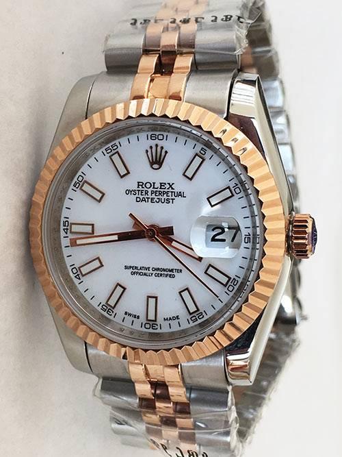 Replica de reloj Rolex Datejust 40 (36mm) (Correa Jubilee) Bi-color acero y oro