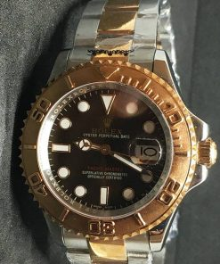 Replica de reloj Rolex Yacht master 03 (40mm) 126621 Chocolate Bi-Color Automático