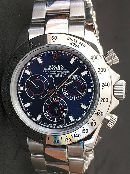 Replica de reloj Rolex Daytona 07 cosmograph (40mm) (Esfera azul) 116509 Automático