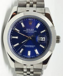 Replica de reloj Rolex Datejust 22 (40mm) 126300 Jubilee (Esfera azul)