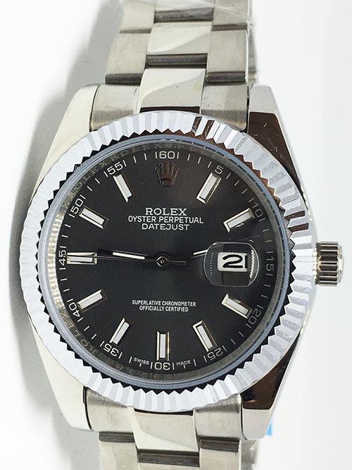 Replica de reloj Rolex Datejust 20 (40mm) 126334 Oyster (Esfera gris)