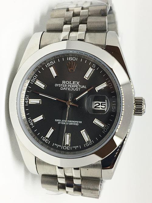 Replica de reloj Rolex Datejust 21 (40mm) 126300 Jubilee (Esfera gris)