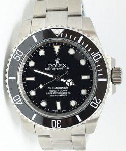 Replica de reloj Rolex Submariner 07 (40mm) 116610LN Negro (Correa Oyster) Automatico
