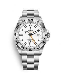 Replica horloge Rolex Explorer ll 04 (42mm) 226570 Esfera blanca (Acero) Automático