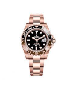 Replica de reloj Rolex Gmt-Master ll 09 (40mm) Root beer 126711CHNR (Acero y oro) Automático Bisel marrón y negro